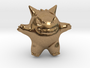 Gengar in Natural Brass