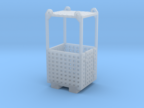 Crane Man Cage 1-87 HO Scale in Frosted Ultra Detail: 1:87