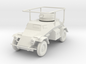 PV134 Sdkfz 223 Radio Car (1/48) in White Natural Versatile Plastic