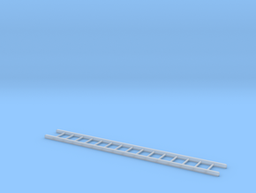12 Foot Ladder in Smooth Fine Detail Plastic: 1:48
