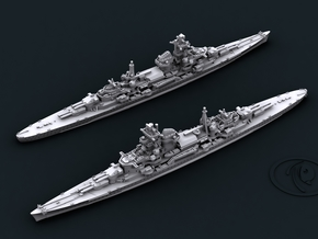 1/1800 KM CA Admiral Hipper [1941] in White Strong & Flexible