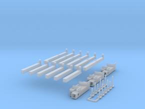 P 150-13 Heckabstuetzung für Ladekran 3x in Smooth Fine Detail Plastic