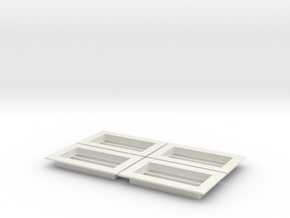 Skylight - Slotted(4)_White in White Natural Versatile Plastic