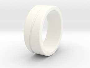 Type B Large in White Processed Versatile Plastic