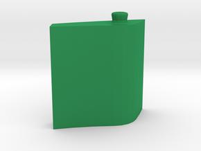 Leaf Bottle 50 ml in Green Processed Versatile Plastic: Medium