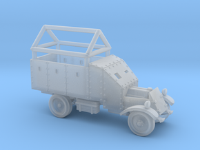 Lancia armoured truck with anti-missile frame (6mm in Smooth Fine Detail Plastic