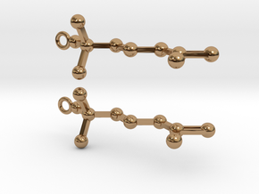 Acetylcholine in Polished Brass