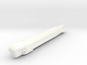 3125 Single Warp Nacelle in White Processed Versatile Plastic