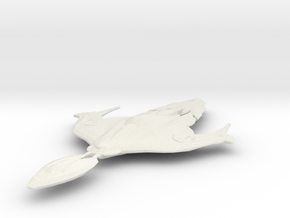 Xindi Aquatic Assault Ship in White Natural Versatile Plastic