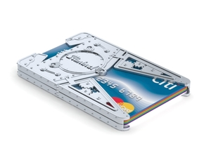 """Sliminal """"Big Daddy"""" (6 Cards) in White Natural Versatile Plastic"""