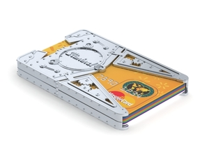 """Sliminal """"Big Daddy"""" (8 Cards) in White Natural Versatile Plastic"""