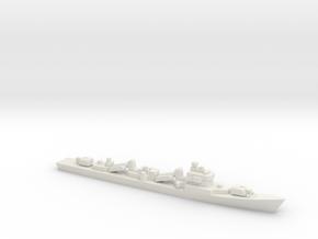 Type 051D Destroyer, 1/3000 in White Natural Versatile Plastic