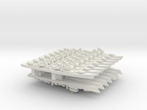 Type 051D Destroyer x 15, 1/3000 in White Natural Versatile Plastic