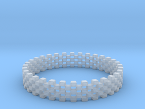 Continum Ring (US Size-10)  in Smooth Fine Detail Plastic: 10 / 61.5