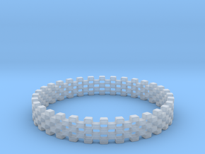 Continum Ring (US Size-13)  in Smooth Fine Detail Plastic: 13 / 69