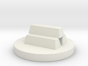 Chess Pawn_Dubai in White Natural Versatile Plastic