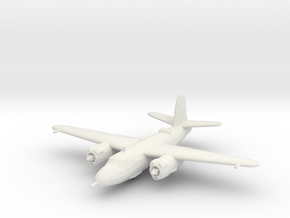 Martin B-26 'Marauder' in White Natural Versatile Plastic: 1:200