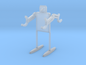 Desk-Droid v.2 in Smooth Fine Detail Plastic: Small
