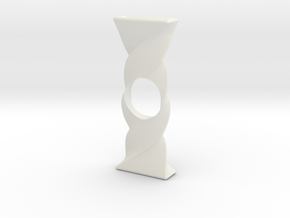 Twist Spinner in White Natural Versatile Plastic