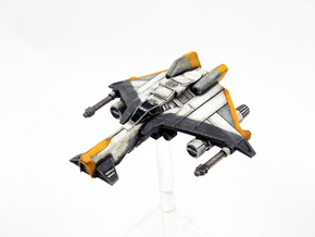 Kihraxz Style Vaksai Starfighter - Variant 2AB in Frosted Extreme Detail