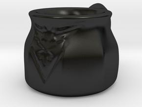 Pokemon Go Team Instinct Mug (8oz) in Matte Black Porcelain