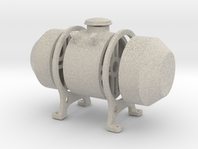 8th scale fuel tank in Natural Sandstone
