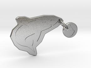 Underwater Food Chain in Natural Silver (Interlocking Parts)