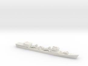 Type 051D Destroyer w/ Helo Hanger, 1/2400 in White Natural Versatile Plastic