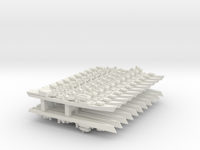 051 Destroyer Complete Pack, 22pc, 1/3000 in White Natural Versatile Plastic