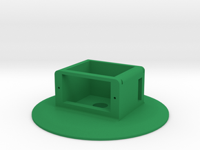 Grippy Bot - Base Spin in Green Processed Versatile Plastic