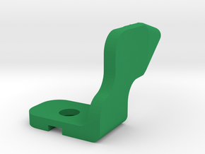 Grippy Bot - Finger in Green Strong & Flexible Polished
