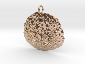 Smashing Pendant in 14k Rose Gold Plated