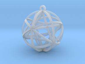 Planetary Merkaba in Smooth Fine Detail Plastic