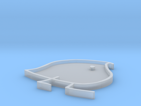 Wug Pin mold in Smooth Fine Detail Plastic