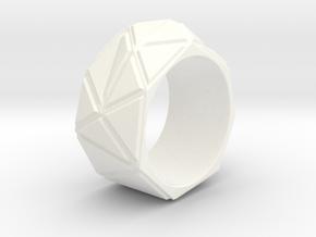 Type F Large in White Processed Versatile Plastic