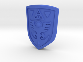 Link to the Past Shield for Figma in Blue Strong & Flexible Polished