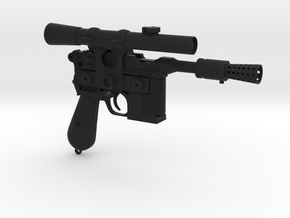 Blaster  Pistol in Black Natural Versatile Plastic