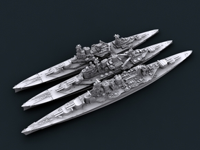 1/4800 WW2 Royal Navy Battlecruisers in Frosted Ultra Detail