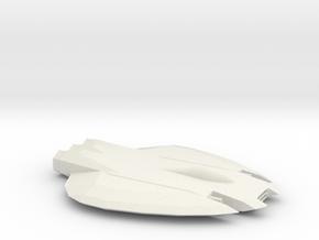 Kilij-Class Fighter in White Natural Versatile Plastic