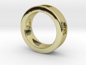 LOVE RING Size-12 in 18k Gold