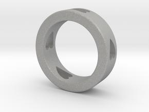 LOVE RING Size-12 in Aluminum