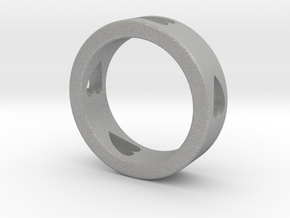 LOVE RING Size-13 in Aluminum