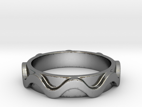 Copa band Ring Size 6.5 in Polished Silver: 6.5 / 52.75