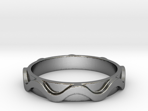 Copa band Ring Size 11.5 in Polished Silver: 11.5 / 65.25