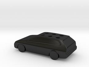 Game Of Life Car Wedding Cake Topper (scaled 85%) in Matte Black Porcelain