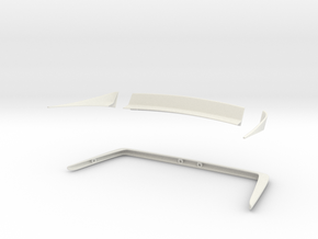 Jaguar XJ12 Broadspeed – kit 02 in White Natural Versatile Plastic