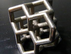 Diamond structure (small) in Stainless Steel