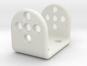 Coxa in White Natural Versatile Plastic