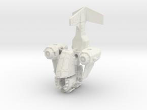15mm Rainclaw VTOL Gunship in White Strong & Flexible