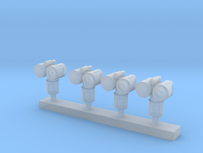 1:200 Scale Mk 95 NSSM Directors (4x) in Frosted Ultra Detail
